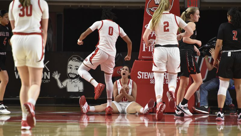 Ball St Cardinals at WKU Hilltoppers, on December 4, 2020 at E.A. Diddle Arena in Bowling...