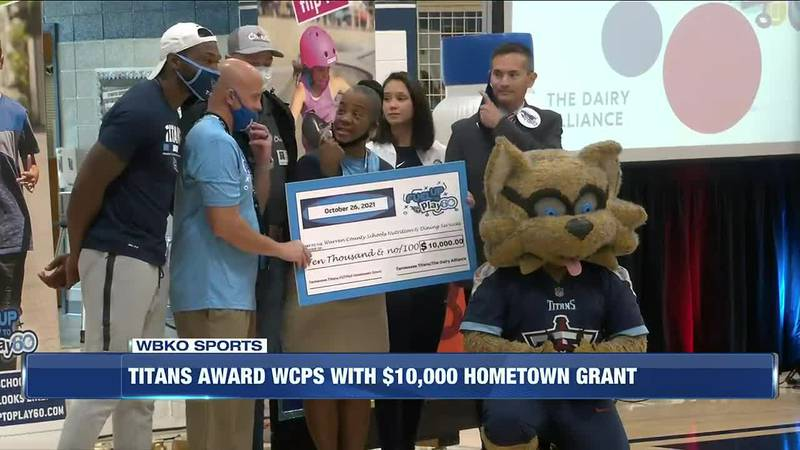 Titans Award WCPS With $10,000 Hometown Grant