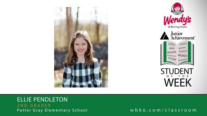 The JA Student of the Week is Ellie Pendleton