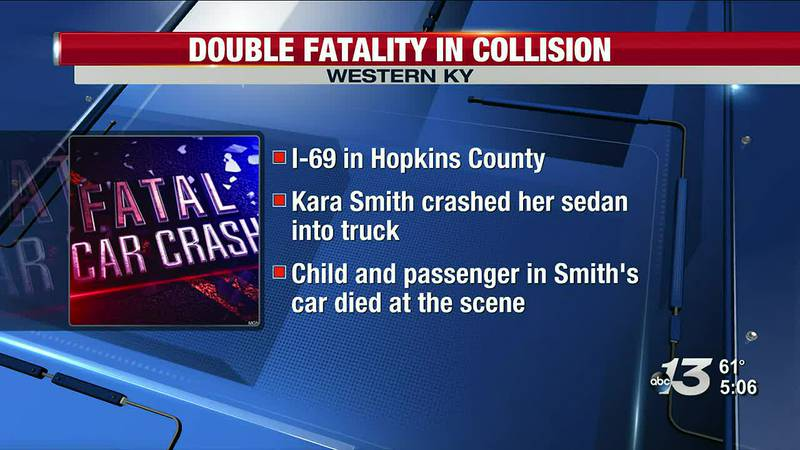 Double Fatality in Collision in Hopkins Co