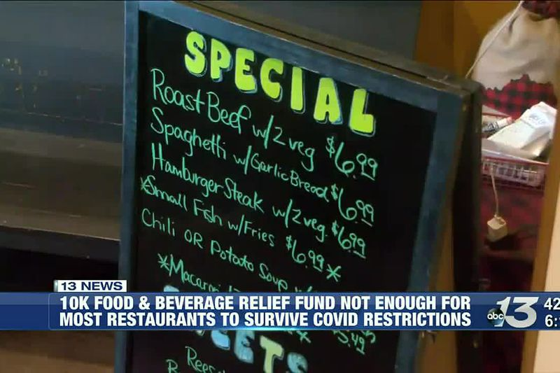 Griddle's restaurant says 10k Food and Beverage grant not enough to stay afloat @ 6