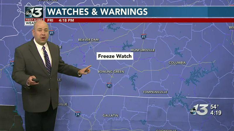Frost Advisory for Tonight