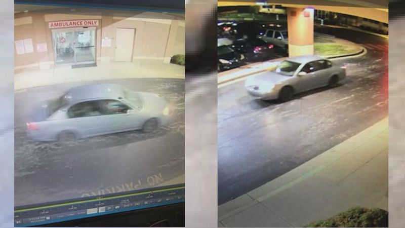 Car that reportedly dropped off shooting victim