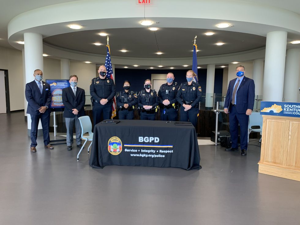BGPD and SKYCTC partner up for higher education program.