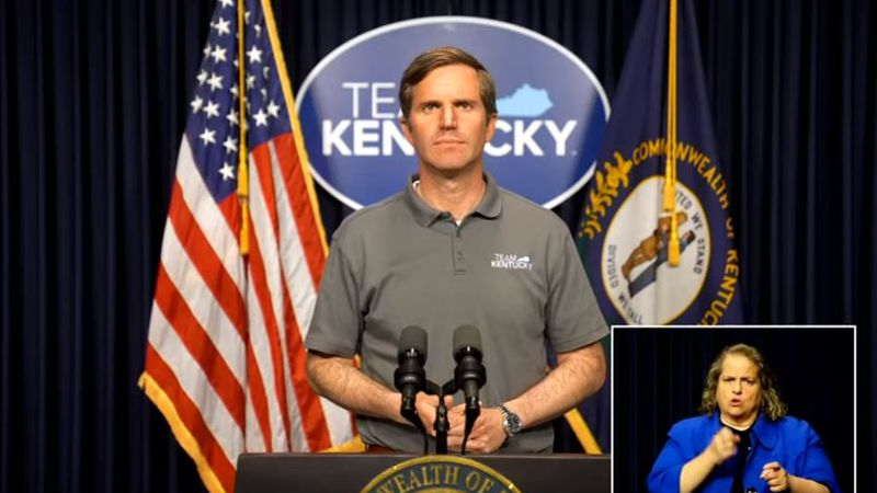 Gov. Andy Beshear announces a return to full capacity at Kentucky venues and events.