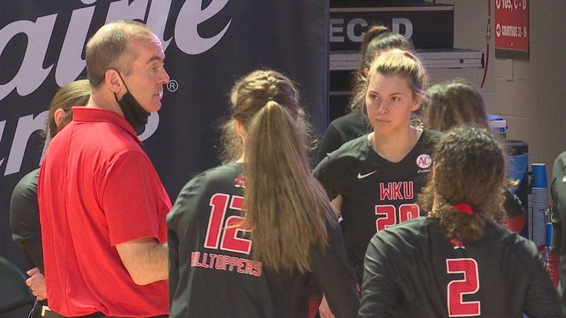 No. 21 WKU Volleyball improved to 13-0 on the season adding another sweep of FIU on Monday.