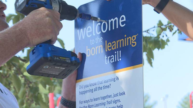 Born learning trail in Simpson County