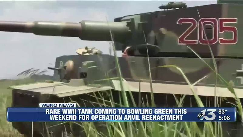 Rare WWII Tank Coming To Bowling Green this Weekend For Operation Anvil Reenactment @ 5