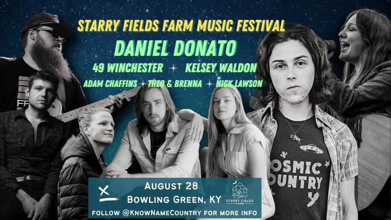 A new music festival comes to Warren County on Saturday, August 28.