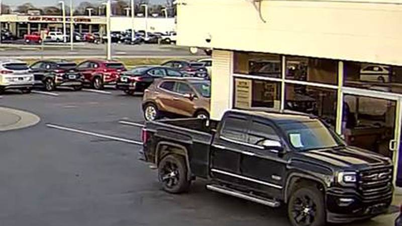 Wheels like these were stolen from a truck  at Jim Johnson Hyundai.