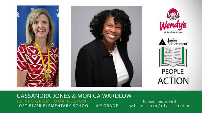 This week's JA People of Action are Cassandra Jones and Monica Wardlow