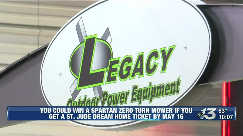 St. Jude Dream Home: Legacy Outdoor Power Equipment talks participating and prize sponsoring