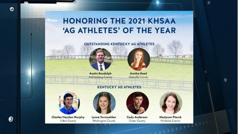 2021 Kentucky High School Athletic Association-Kentucky Department of Agriculture Ag Athletes...