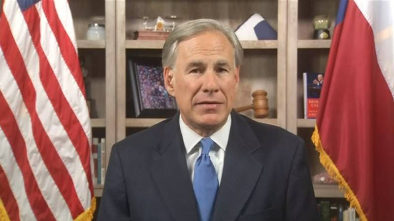FILE - Texas Gov. Greg Abbott said that he tested negative for COVID-19.