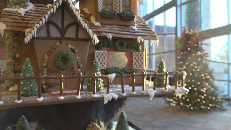 6th annual Gingerbread Home for the Arts