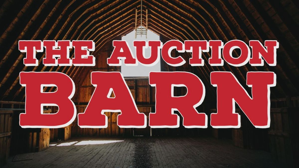 The Auction Barn by Barn Lot Theater.