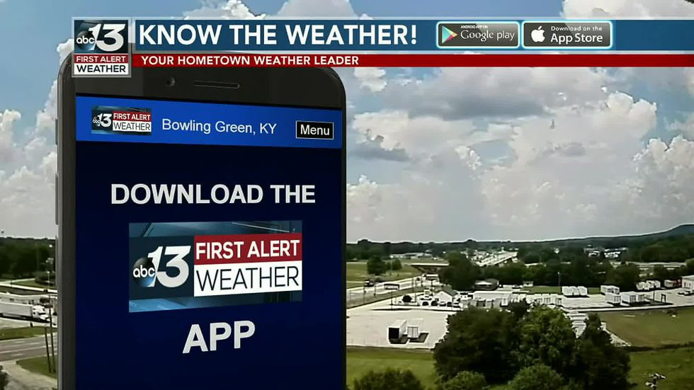 Track the storms this afternoon by downloading the WBKO First Alert weather app!