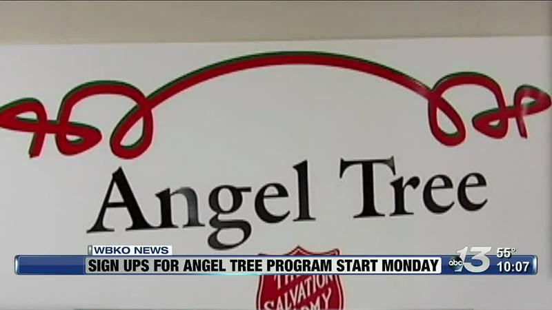 Signups for Angel Tree Program Start Monday