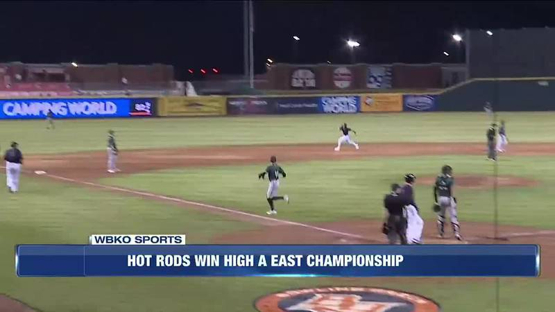 Hot Rods Win High A East Championship
