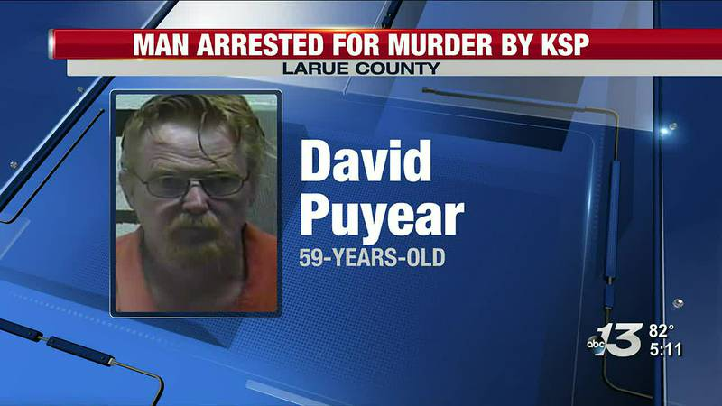 Larue Co. man arrested on murder charges