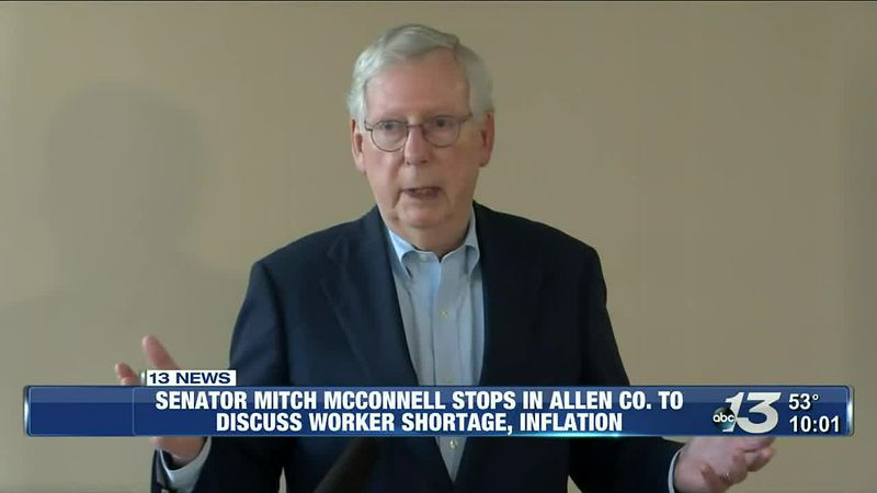 Senator McConnell stops in Allen County