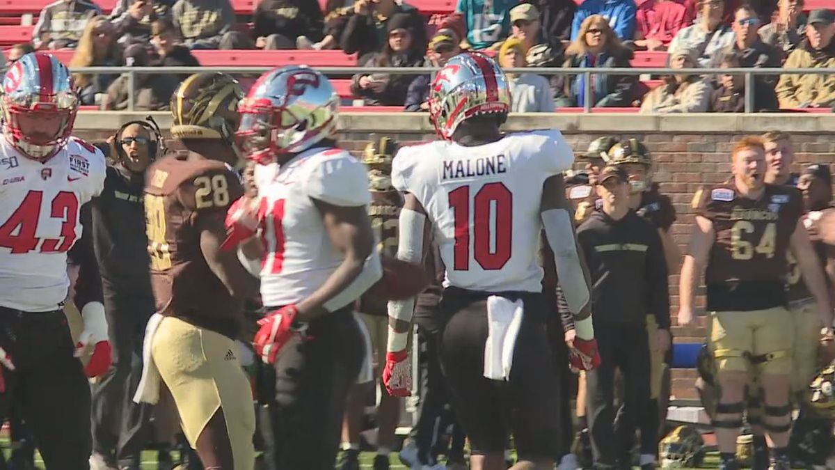 WKU Football's Deangelo Malone vs Western Michigan in First Reponder Bowl