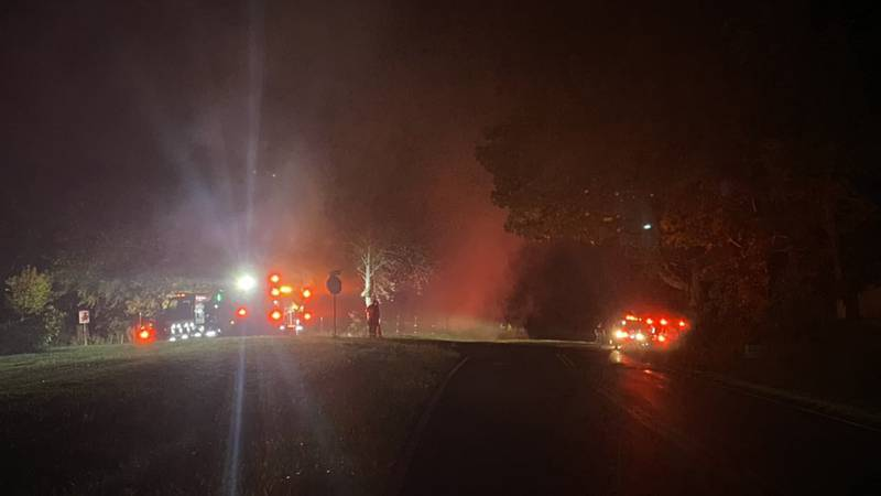 Barn fires on Plano and Dye Ford Road
