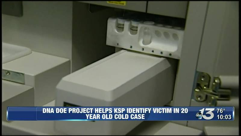 DNA Doe Project helps KSP identify victim in 20-year-old cold case