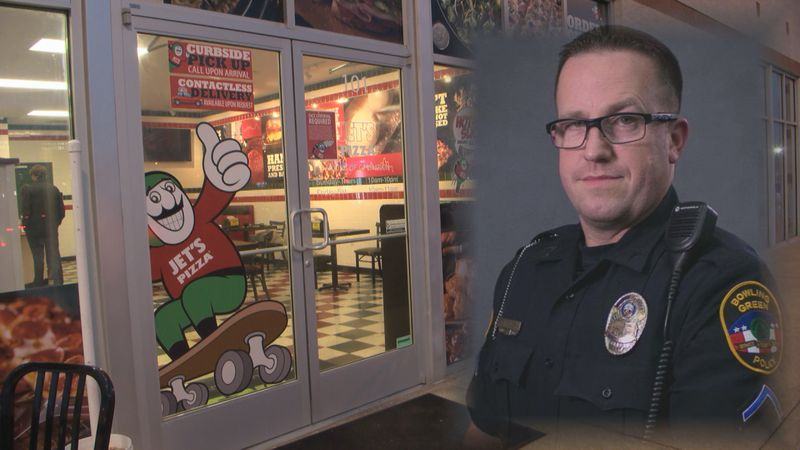 Jet's Pizza raises more than $1,600 for Bowling Green police officer (WBKO)