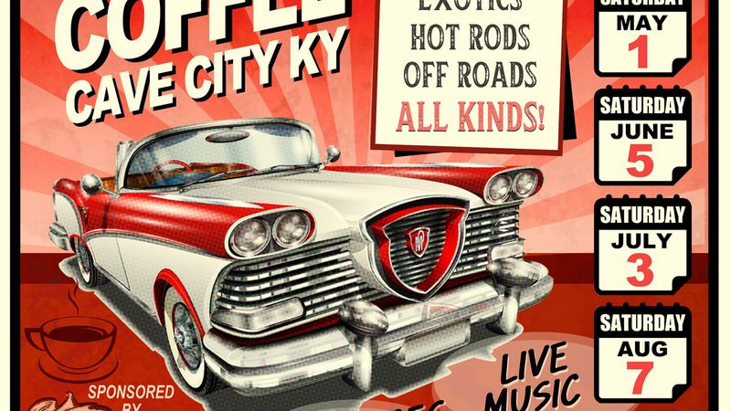 World-class cars, vendors and live music will bring Saturday entertainment to Cave City.