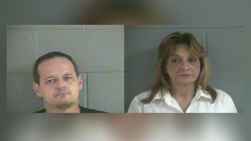 Scotty Eudy, 45 of Cave City, Ky and Etta Lutterman, 53 of Glasgow, Ky both arrested on drug...