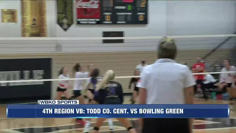4th Region Volleyball: Clinton Co. v Barren Co. & Todd Co Cent. v Bowling Green