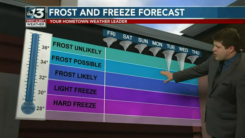 Tracking more potential for frost next week!