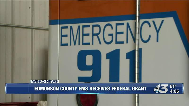 Edmonson Co EMS Receives Federal Grant @ 4