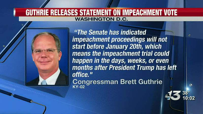 Guthrie releases statement on Impeachment