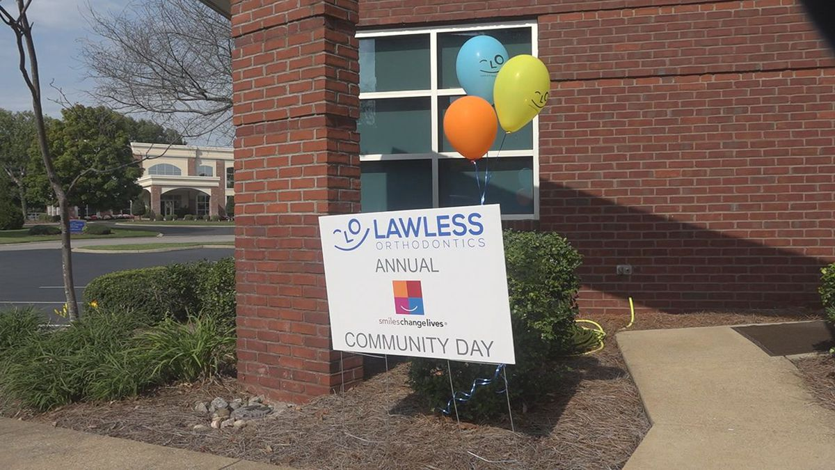 Community Day at Lawless Orthodontics
