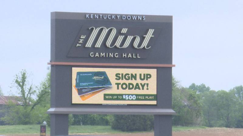 The Mint Gaming Hall at Kentucky Downs