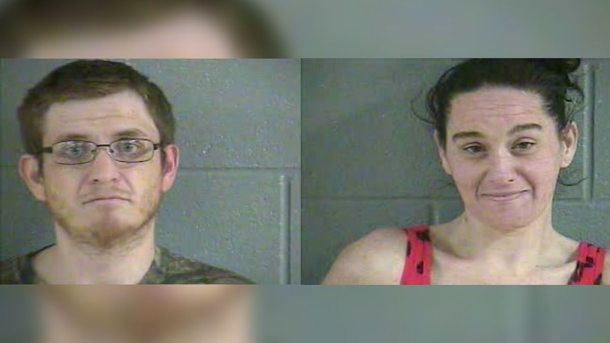 Two arrested after syringes, pipes, and meth are found at a Glasgow residence.
