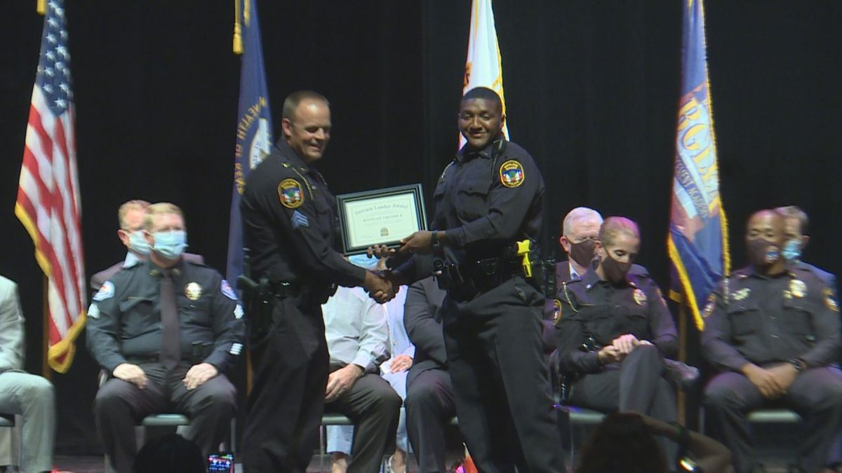 The officers celebrated graduation on Friday, a total of nine officers are being added to the...
