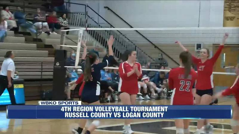 4th Region Volleyball Tournament: Russell County v Logan County & ACS v Greenwood