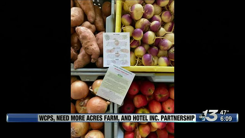 Good News: WCPS, Need More Acres Farm, and Hotel INC. Partnership