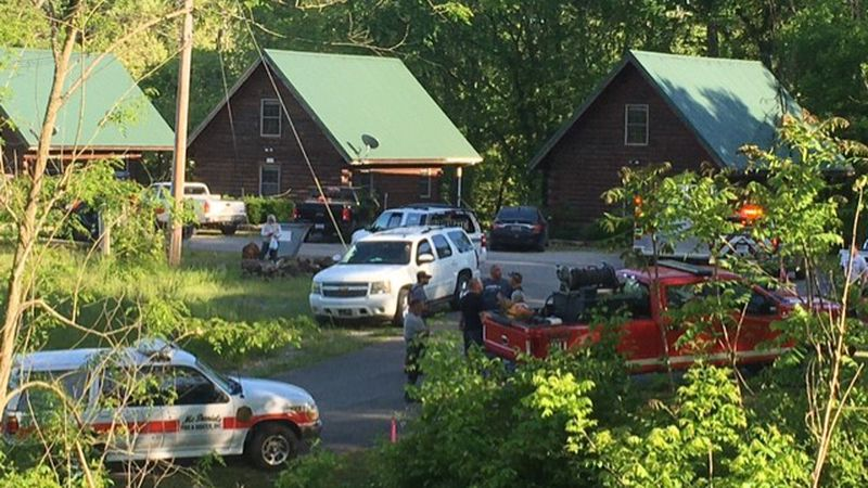 Officials from both Grayson and Breckinridge counties searched for a child that went missing in...