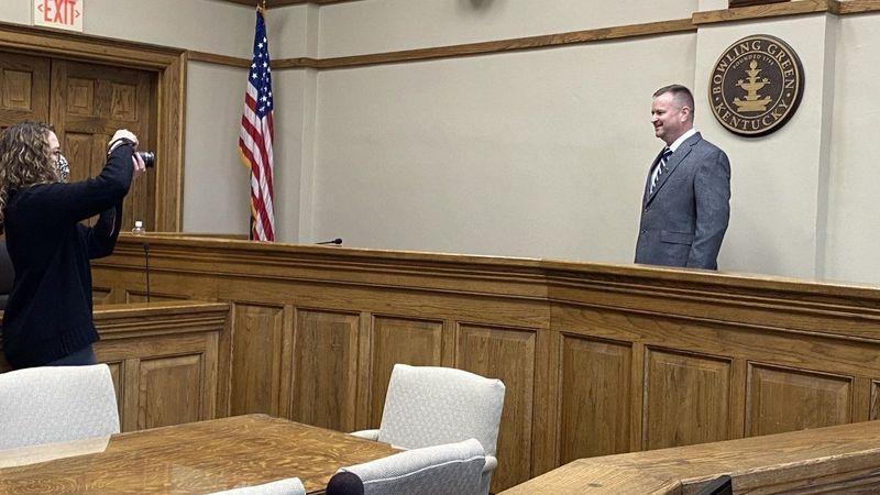 Mayor Todd Alcott Sworn into Office (WBKO)