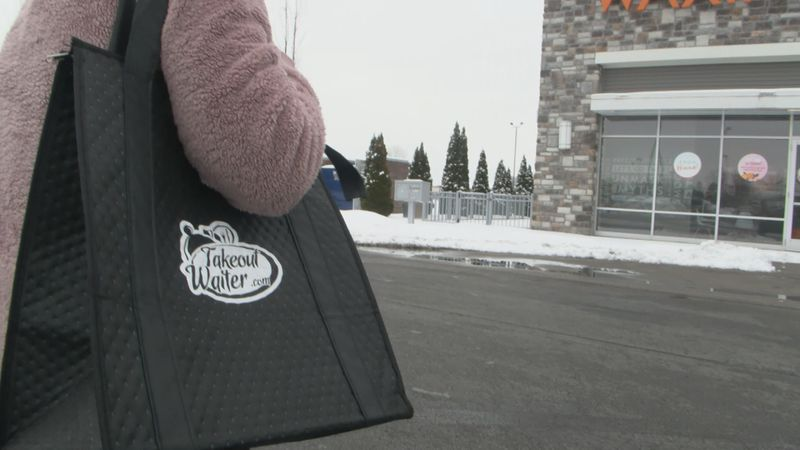 Restaurants, food delivery services feel impact of winter weather