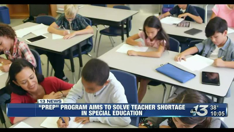 """PREP"" program aims to fill shortage of teachers in special education"