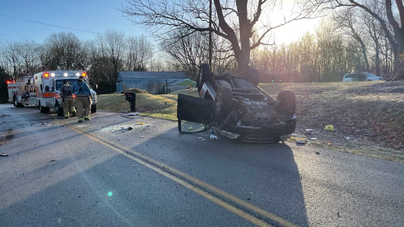 Crews are on the scene of a few Friday morning crashes in Warren County, including in the...