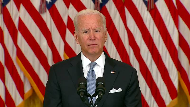 President Joe Biden is set to meet with his national security team about the evacuations, and...