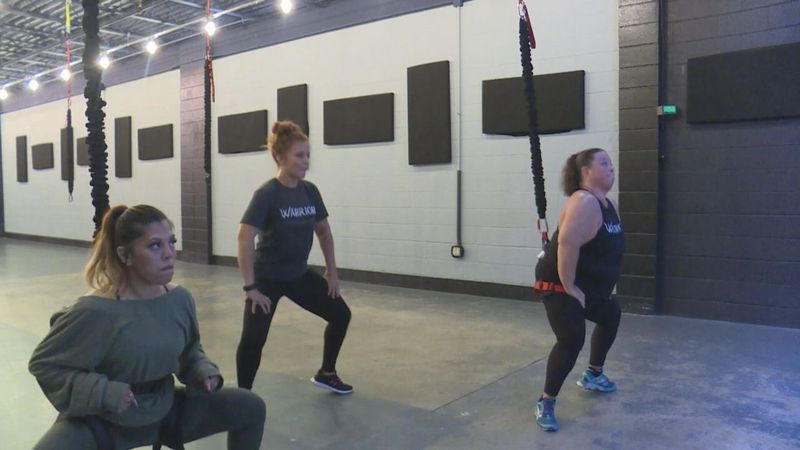 Bungee fitness classes