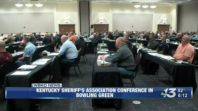 Kentucky Sheriff's Association Conference in Bowling Green @ 6
