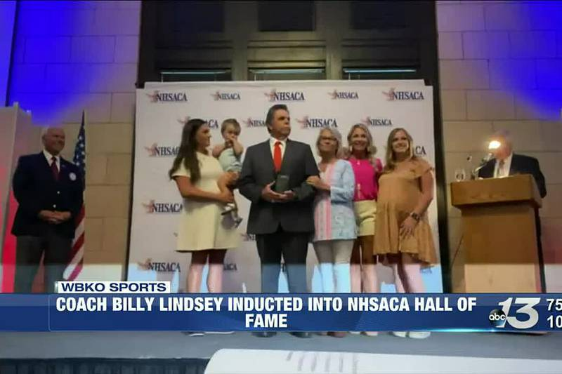 Coach Billy Lindsey Inducted into NHSACA Hall of Fame